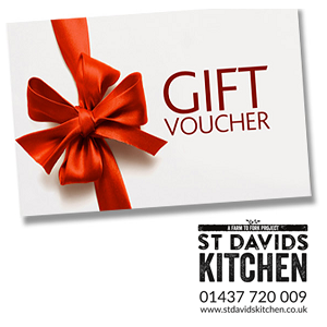 St Davids Kitchen Gift Vouchers